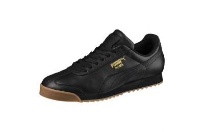 Roma Classic Gum Couleur Puma Black-Puma Team Gold