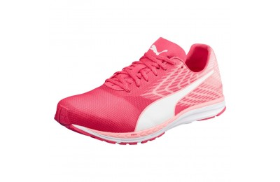 Chaussure de course Speed 100 R IGNITE 2 pour femme Couleur Pink-Fluo Peach-White