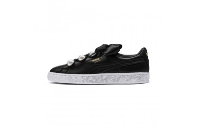 Basket Bling pour femme Couleur Puma Black-Metallic Gold