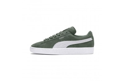 Basket Suede Classic Couleur Laurel Wreath-Puma White