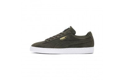 Basket Suede Classic+ Couleur forest night-white