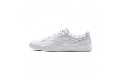 Basket Clyde Rubber Toe Couleur Puma White-Puma White