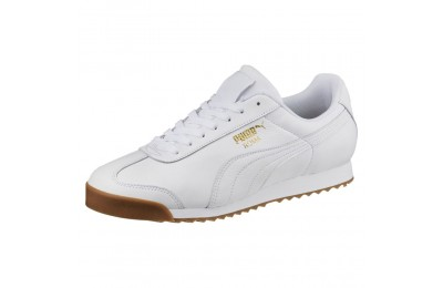 Roma Classic Gum Couleur Puma White-Puma Team Gold