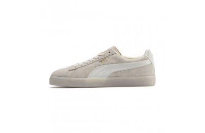 Basket Suede Classic Satin pour femme Couleur Whisper White-Metallic Gold