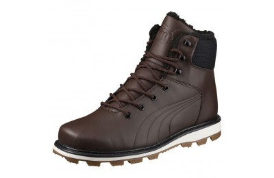 Bottine d'hiver Desierto Fun en cuir Couleur Chocolate Brown-Chocol Brown