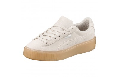 Suede Platform Jewel PS Couleur Whisper White-Whisper White