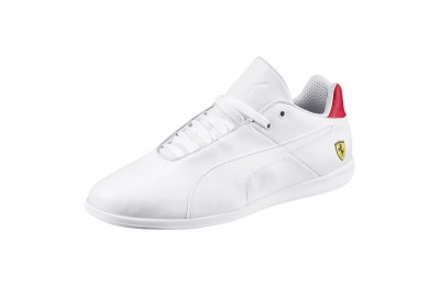 Basket Ferrari Future Cat Casual Couleur Puma White-Wht-Rosso Corsa