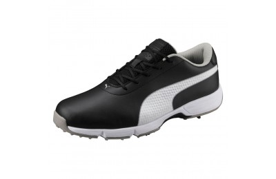 Chaussure de golf Drive Cleated Classic pour homme Couleur Black-White