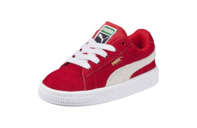 Chaussure sneaker Heritage Suede Classic Couleur high risk red-white