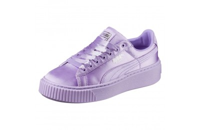 Chaussure Basket Heart Lunar Lux pour fille<br /> Couleur Purple Rose-Purple Rose