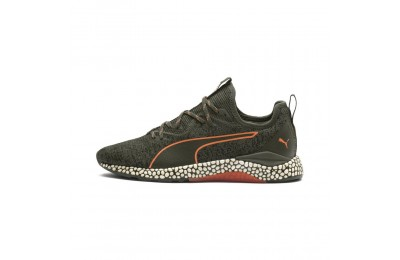 Chaussure de course Hybrid Runner Unrest pour homme Couleur Forest Night-Firecracker