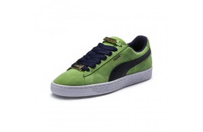 Basket Suede Classic B-BOY Fabulous Couleur Forest Green-Peacoat