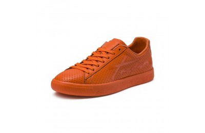 Basket PUMA x TRAPSTAR Clyde avec perforation Couleur GOLDEN POPPY-GOLDEN POPPY
