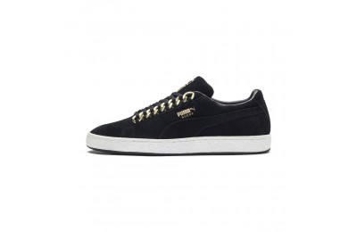 Basket Suede Classic X-chains Couleur Puma Black-Metallic Gold