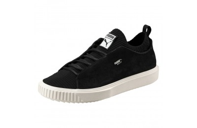 Chaussure Breaker Knit Sunfaded Couleur Puma Black-Whisper White