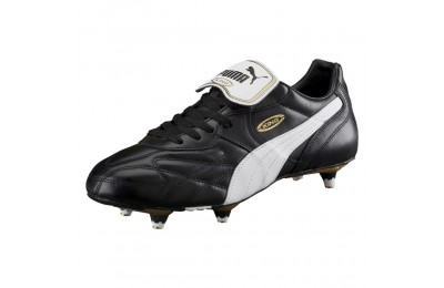 Chaussure de foot King Pro SG Couleur black-white-team gold