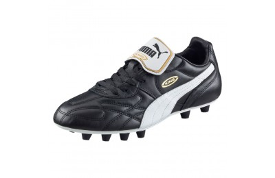 Chaussure de foot King Top di FG Couleur black-white-team gold