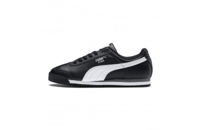 Basket Roma Basic Couleur black-white-puma silver