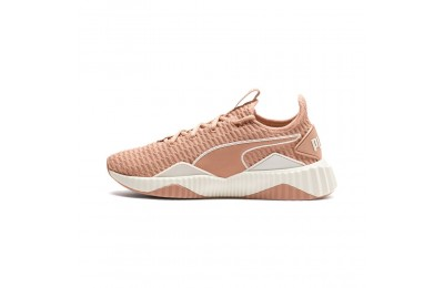 Basket Defy pour femme Couleur Dusty Coral-Whisper White