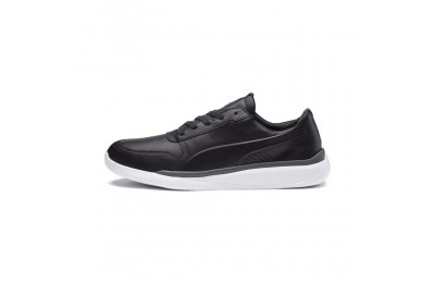 Basket Ferrari Podio Lo pour homme Couleur Moonless Night-Puma White