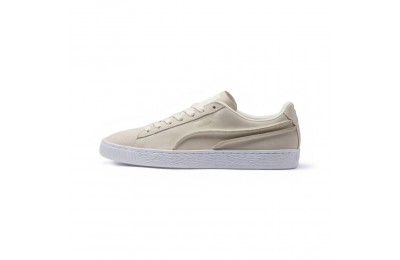 Basket Suede Classic Exposed Seams Couleur Whisper White