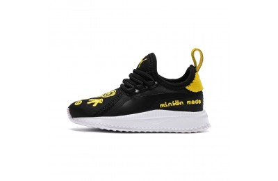 Basket PUMA x MINIONS TSUGI Apex AC Preschool pour enfant Couleur Black-White-Minion Yellow