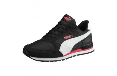 ST Runner v2 NL Couleur Puma Black-P. White-P. Pink
