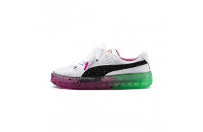 Basket Platform Candy Princess PUMA x SOPHIA WEBSTER pour femme Couleur Puma White-Puma Black