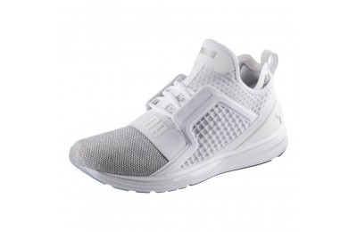 Basket IGNITE Limitless Knit pour homme Couleur Puma White-Puma Silver
