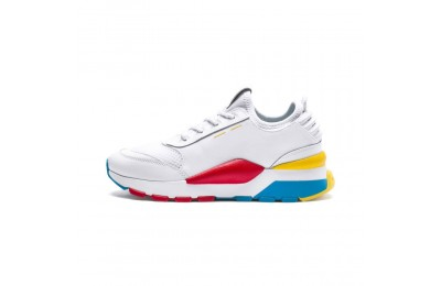Basket RS-0 PLAY Preschool pour enfant Couleur White-Puma White-White