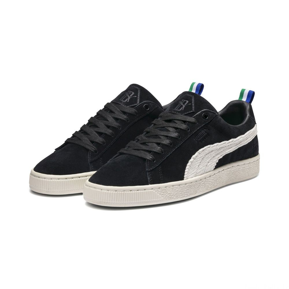 Basket PUMA x BIG SEAN Suede 'Black White' Couleur Puma Black-Whisper White