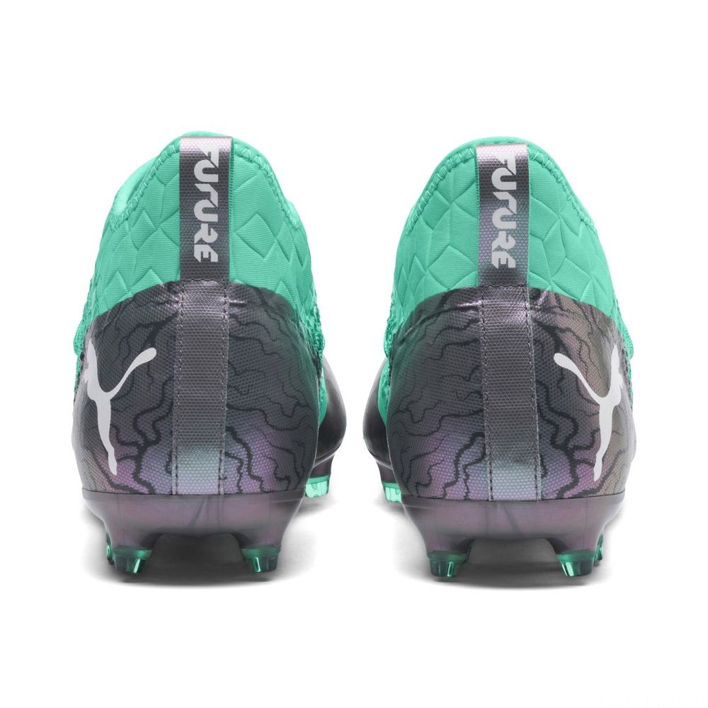 Chaussure de foot FUTURE 2.3 NETFIT FG/AG Couleur Col Shift-Green-White-Black