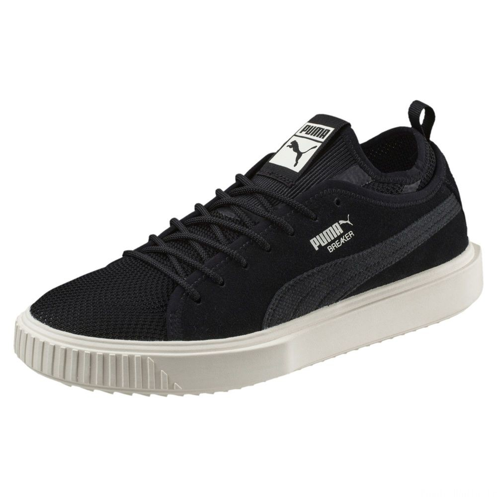 Basket Breaker Mesh Couleur Puma Black-Whisper White