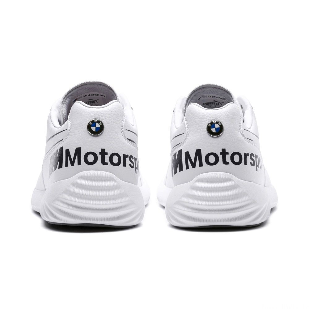 Basket BMW M Motorsport SpeedCat Evo Synth Couleur White-White-Anthracite