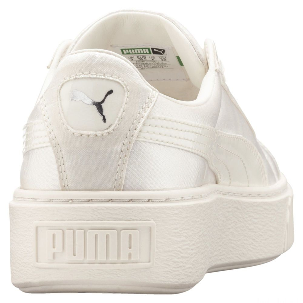Chaussure Basket Heart Lunar Lux pour fille<br /> Couleur Whisper White-Whisper White