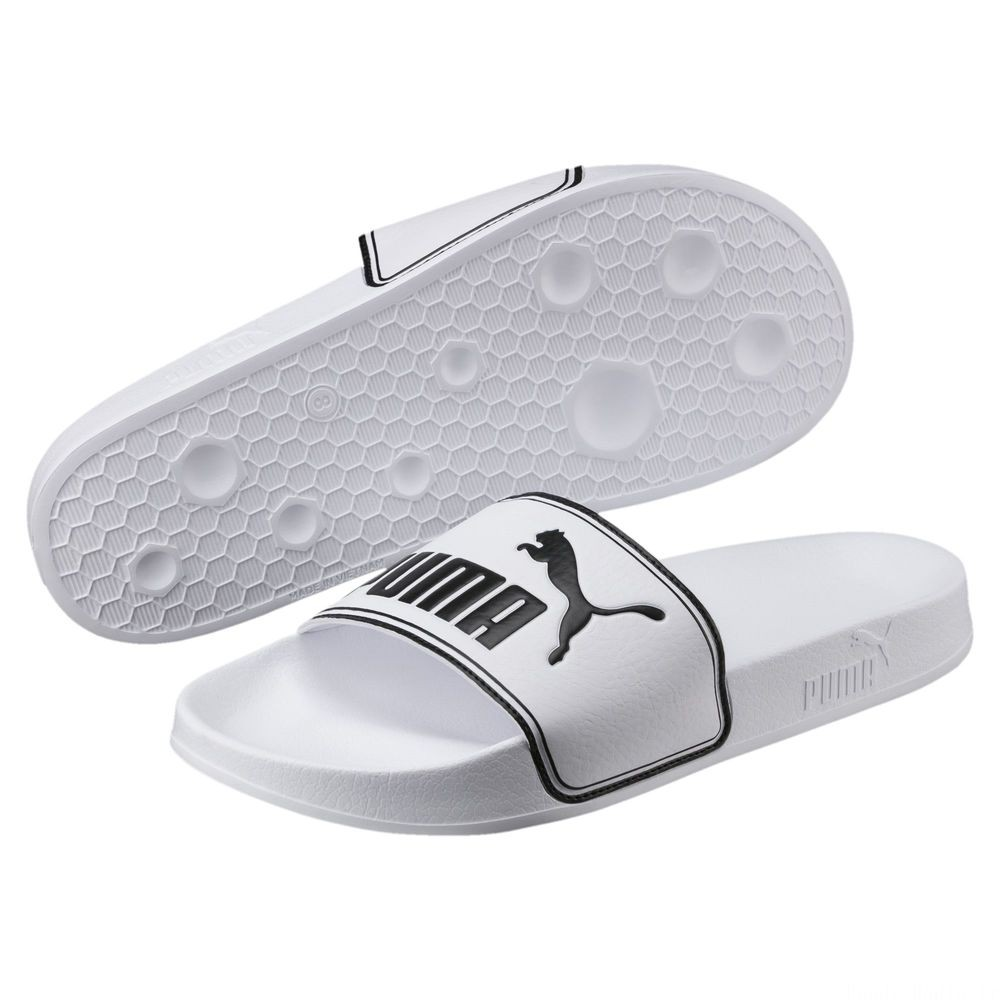 Chaussure de bain Leadcat Slide Couleur Puma White-Puma Black