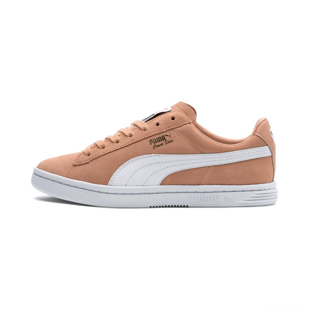 Basket Court Star FS Couleur Dusty Coral-Puma White