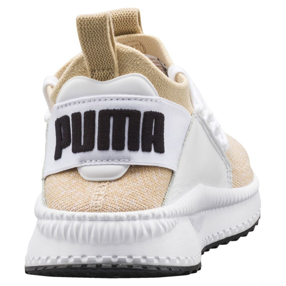 Basket TSUGI Jun pour femme Couleur Pebble-Puma White-Puma White
