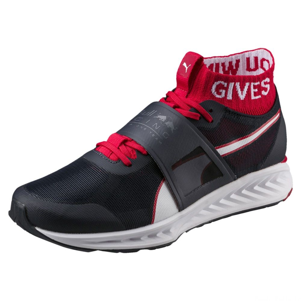Chaussure d'entraînement Red Bull Racing Mechs IGNITE V3 pour homme Couleur NIGHT SKY-White-Chinese Red