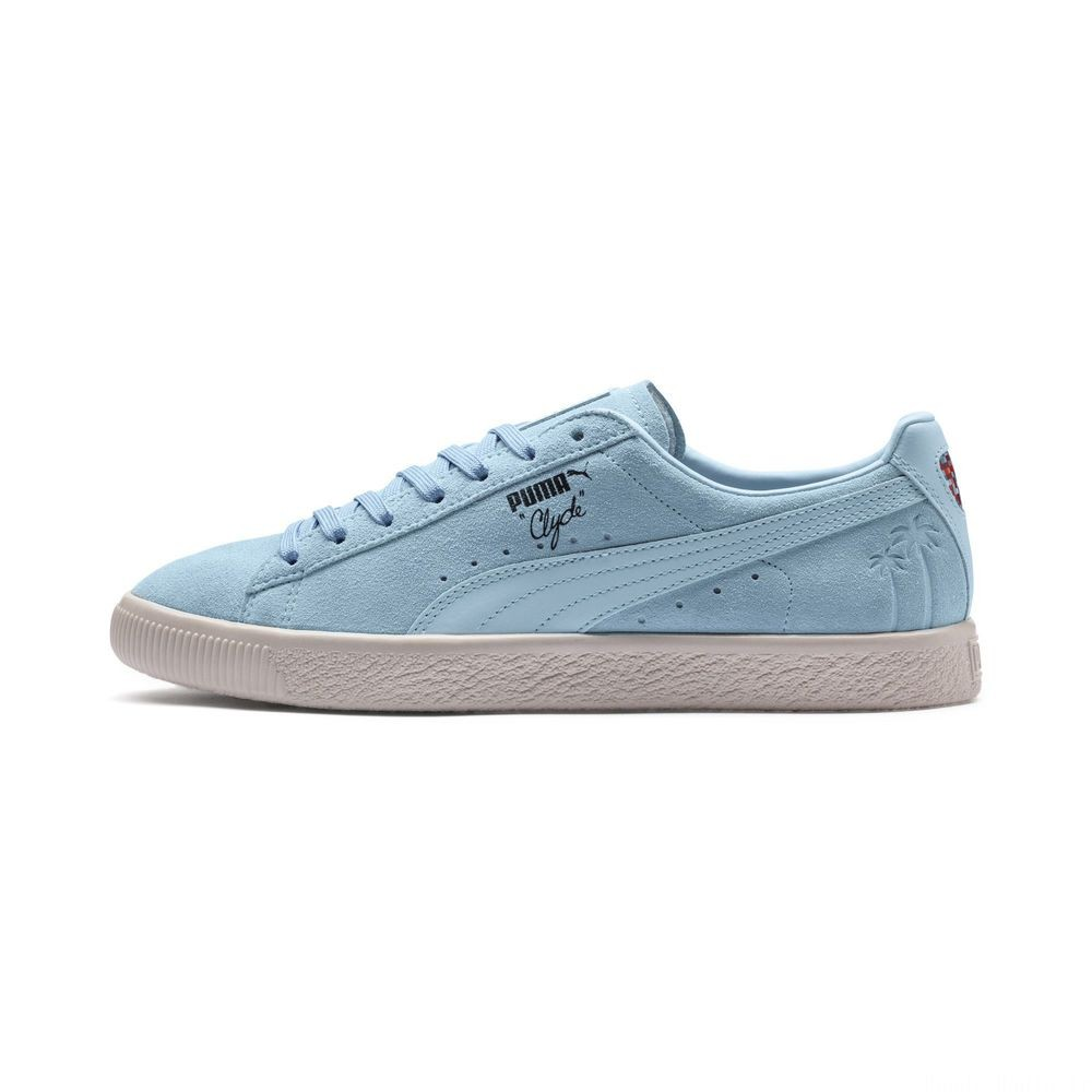 Basket Clyde Venice Couleur Cool Blue-Omphalodes-G Gray