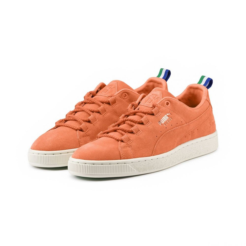 Basket PUMA x BIG SEAN Suede Couleur Melon-Melon