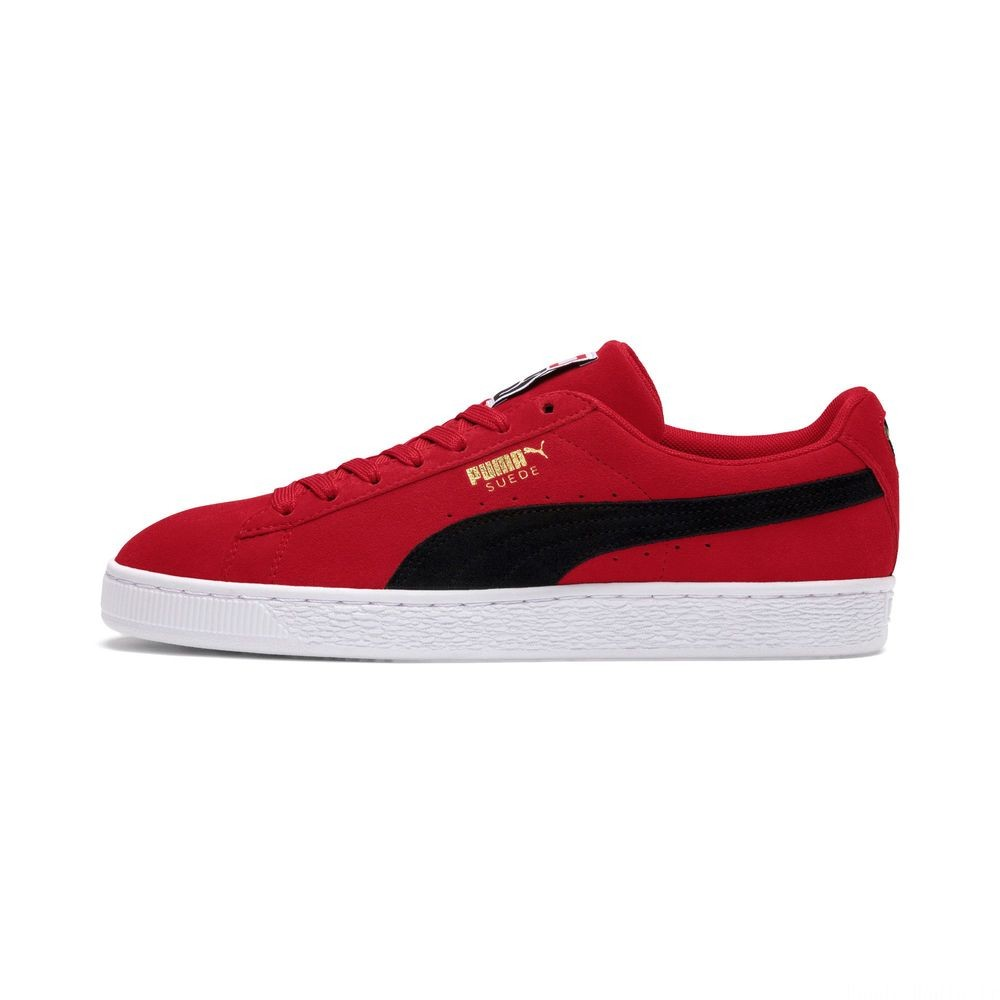 Suede Classic Couleur Ribbon Red-Puma Blk-Puma Wht