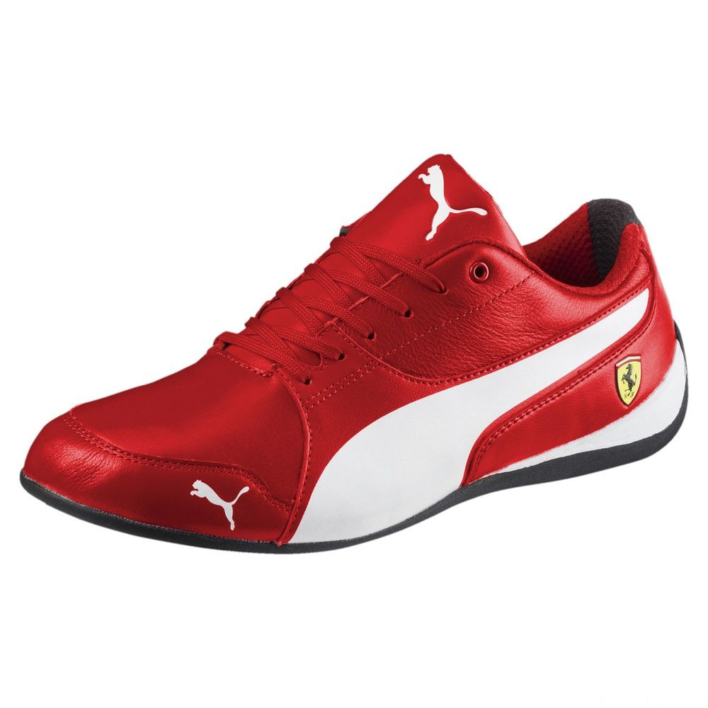 Basket Ferrari Drift Cat 7 Couleur Rosso Corsa-Puma White-Black