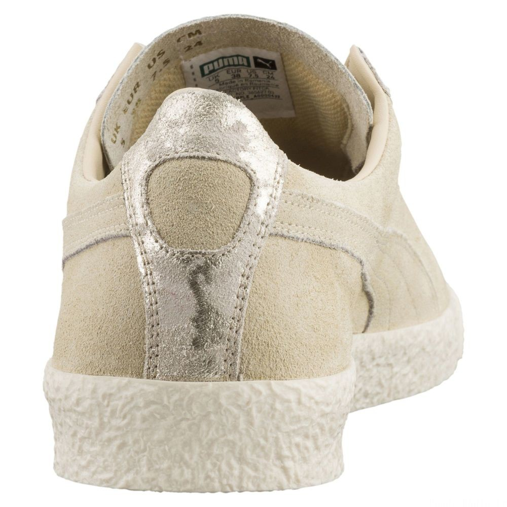 Basket Te-Ku Suede pour femme Couleur Pebble-Birch-Marshmallow