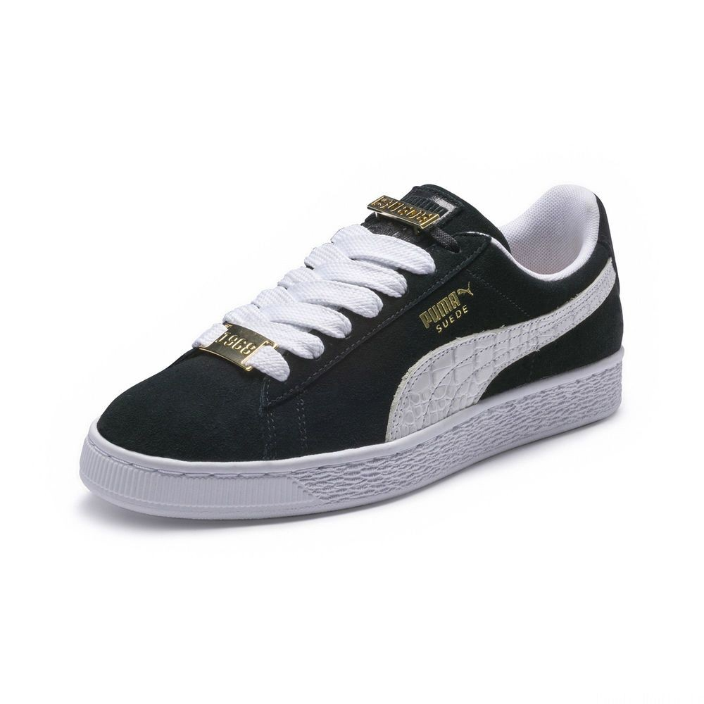 Basket Suede Classic B-BOY Fabulous Couleur Puma Black-Puma White