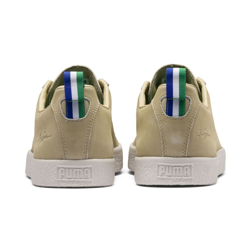 Basket PUMA x BIG SEAN Clyde Pale Khaki Couleur Pale Khaki