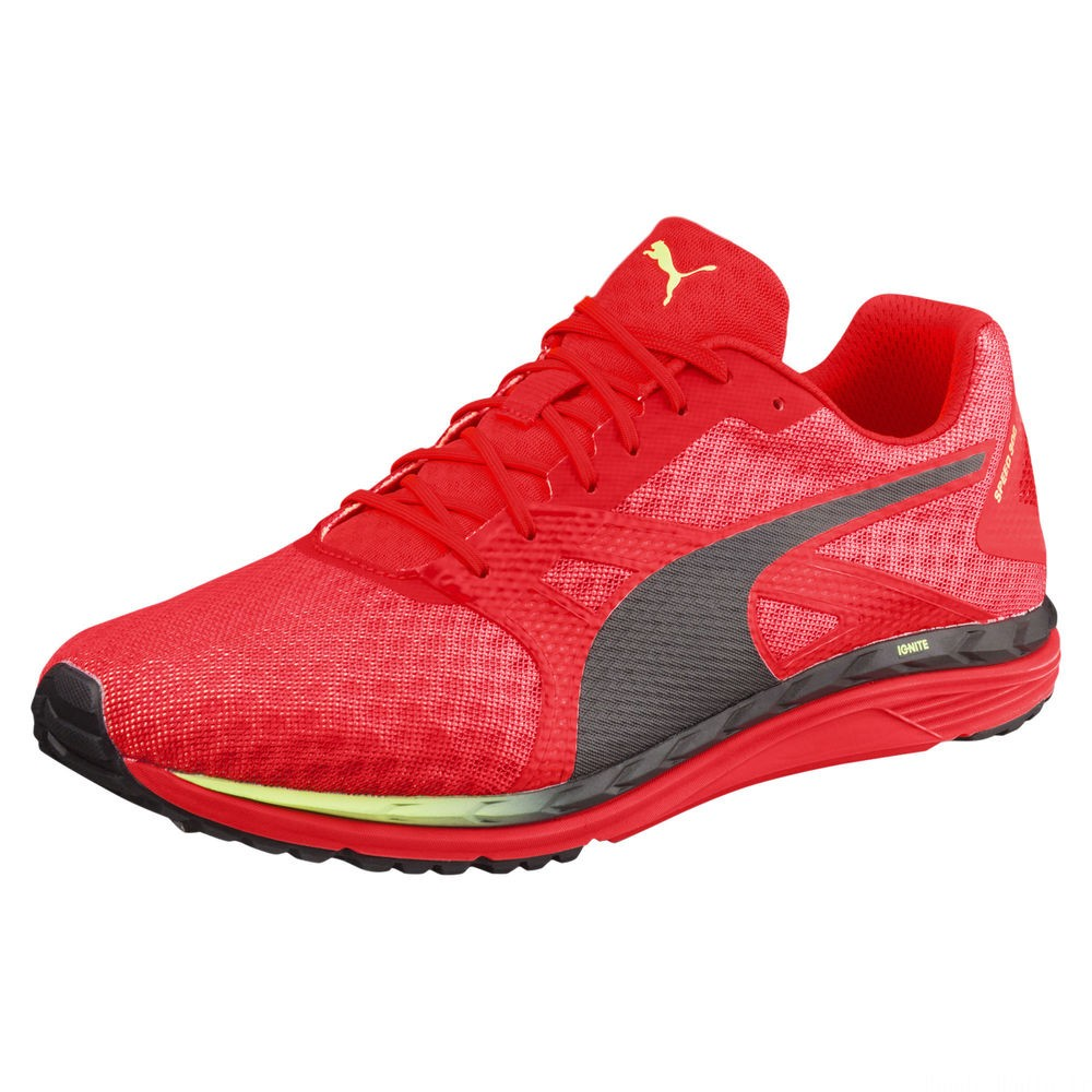 Speed 300 IGNITE 3 Couleur Red Blast-Black-Fizzy Yellow