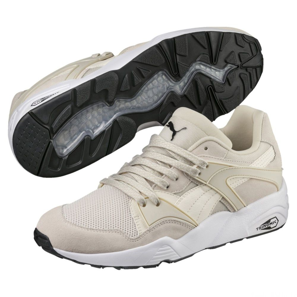 Basket Blaze Couleur Birch-Puma Black-Puma White