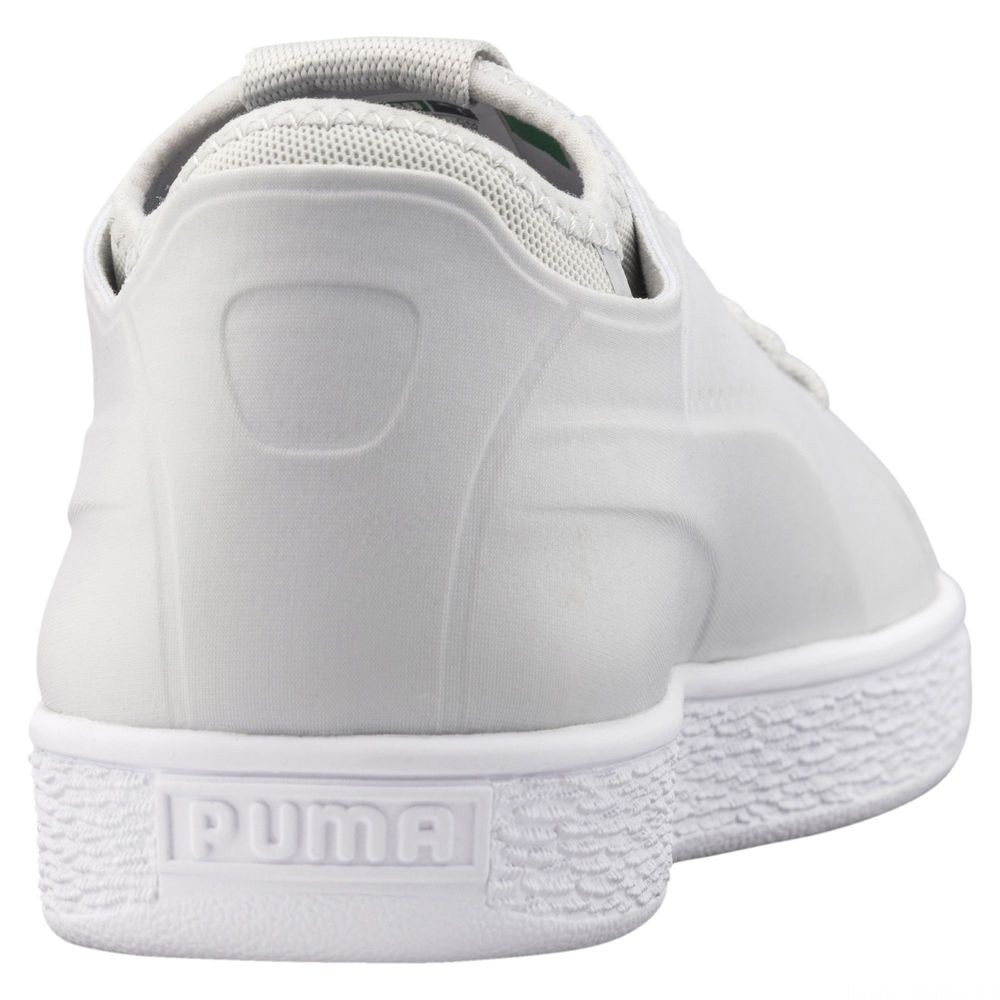 Basket Classic Sock Lo Couleur Glac Gray-Glac Gray-Puma Wht
