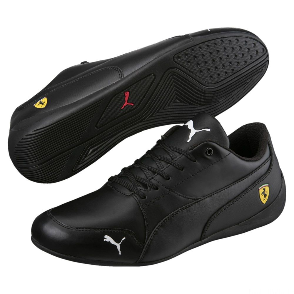 Basket Ferrari Drift Cat 7 Couleur Puma Black-Puma Black